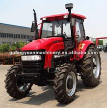 Hot sale big Tractor 1104 4wd warmer cabin 110hp tractor