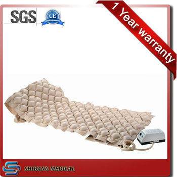 The most popular comfortable Bubble type plastic hospital bed mattress