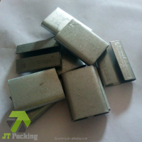 Galvanized Steel Seals/Buckles Strapping Yellow Buckle for PP Strapping Band