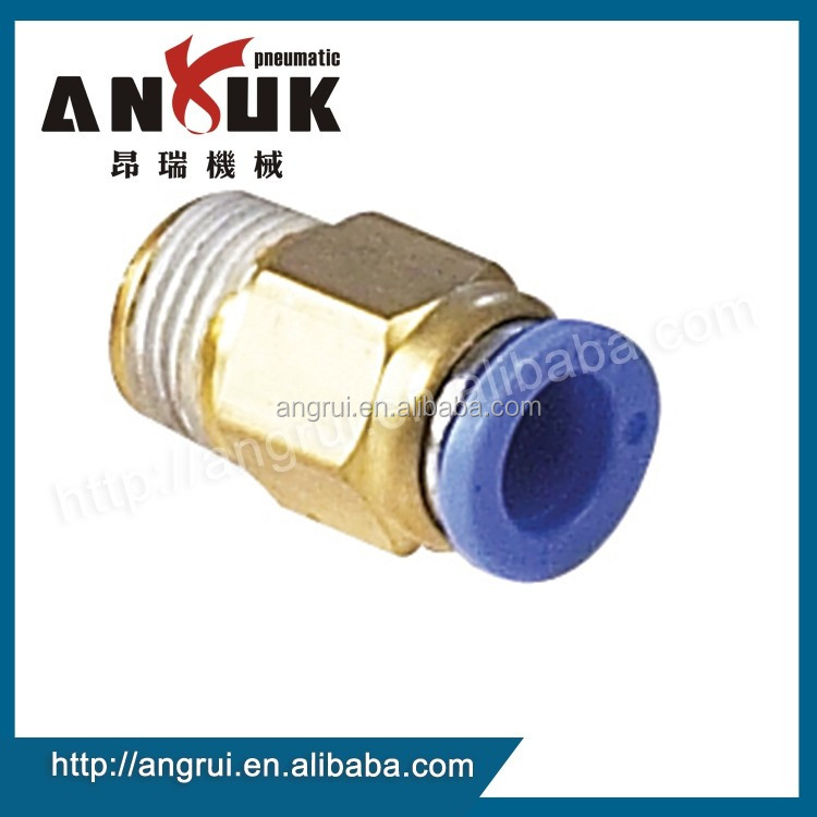 Wholesale PC Male Connector Straight fitting, pneumatic fitting price