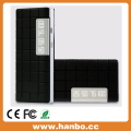 Portable External Power Bank 10000 mAh black white