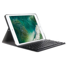 Factory OEM bluetooth keyboard and case,for ipad smart cover,leather case for ipad 9.7 2017 cover