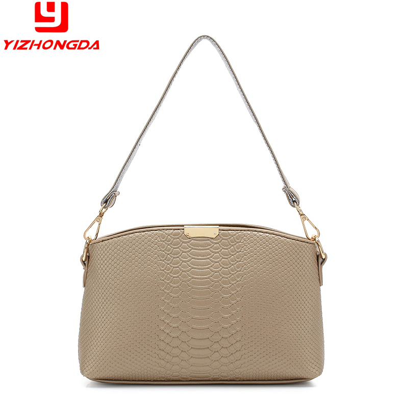 China products genuine leather champagne color channel handbags women bags