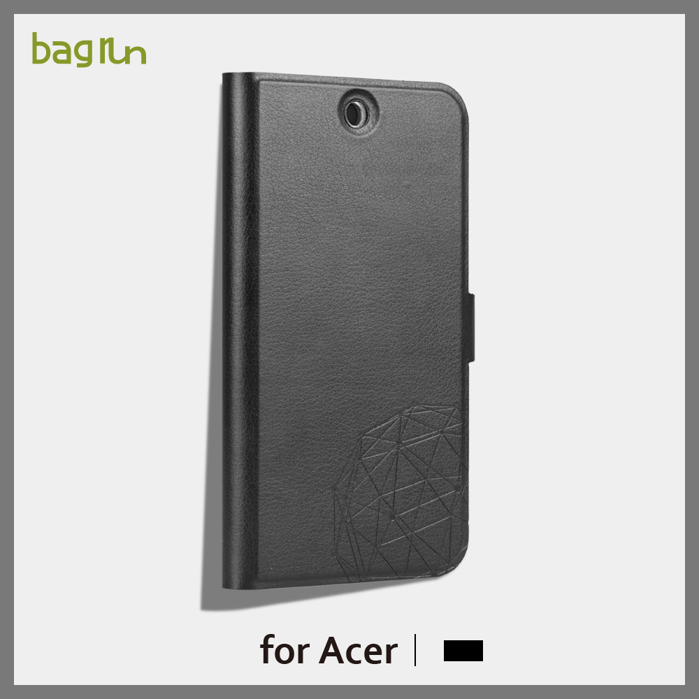 2016High Quality PU Leather Phone Case for acer Z530 with Standing Function Case