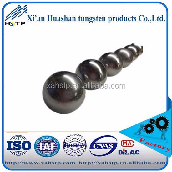 Wofarm Tungsten Alloy beads/balls for shoting 97wnife tungsten beads