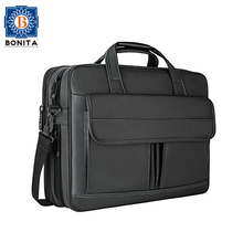 Classical Business Water Resistant Travel Briefcase Laptop Bag 15.6 Inch Expandable Messenger Shoulder Bag For Compute
