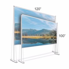 2017 new design outdoor fast fold projector screen projection screen 100 120 inch