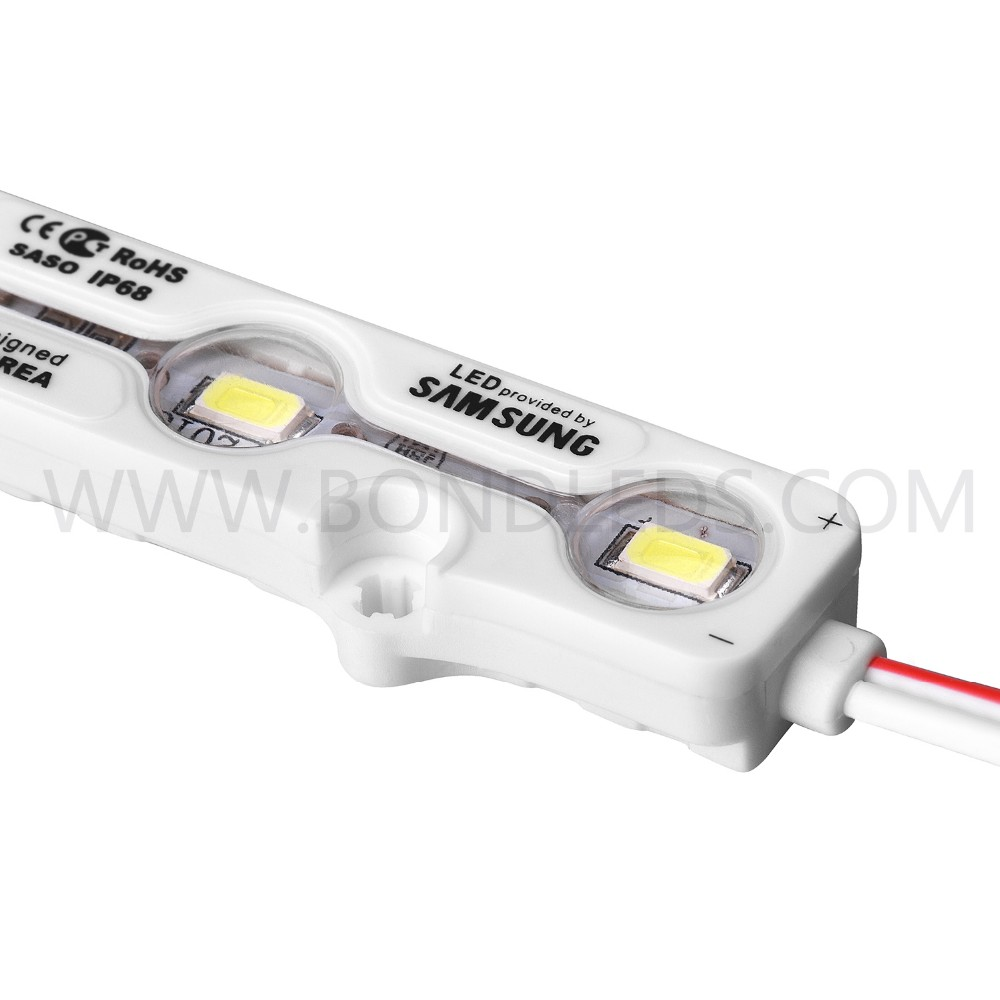 Good price led module 1.2w 5630 injection led module ce rohs certification