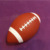 Official Size Custom Print Leather Inflatable American Football