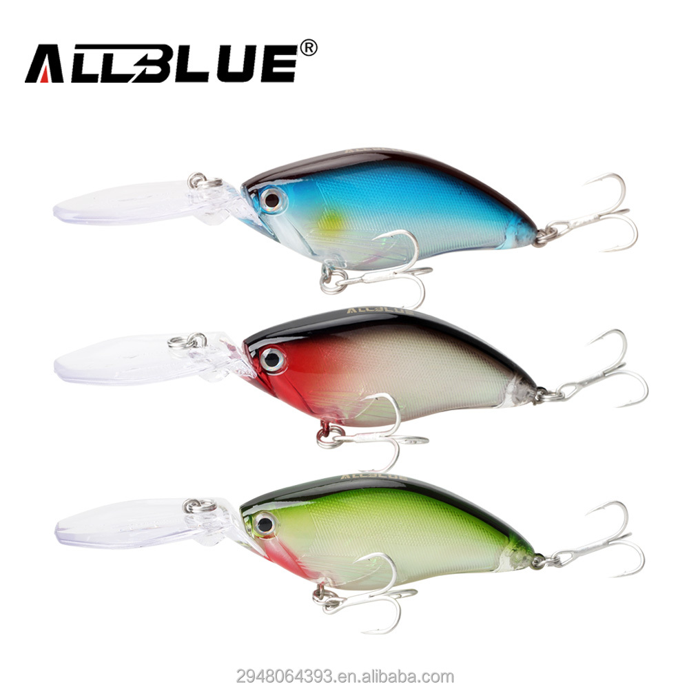 New Floating Deep Diving Fishing Wobblers Hard Crankbait Bass Fishing Lure