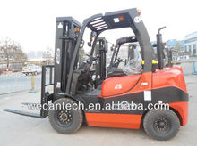 hot sale 2.5 Ton Diesel Forklift Truck,most popular fork lift model
