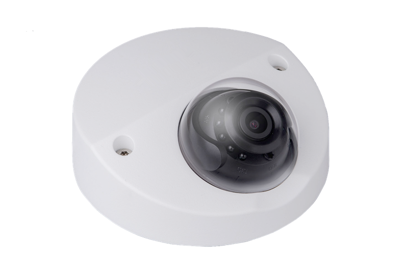 Professional Vandal-proof 4MP H.265 WDR Mini Dome POE IP Camera with 20mIR