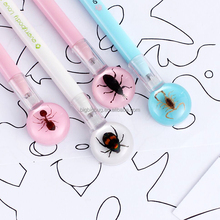 Insect Gel Pen Rollerball pen with resin button as banner pen