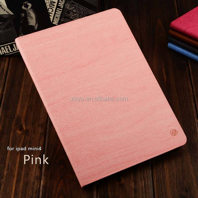 2017 Genuine PU leather cover for ipad mini 4 case,Hand case for ipad mini 4