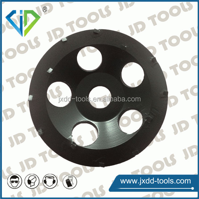 PCD wheel for floor coating removal epoxy and paint grinding