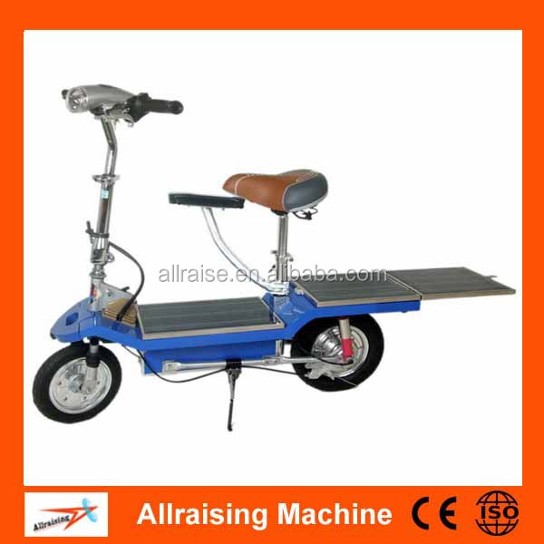 12 Inch Single Person Solar Electric Bicycle