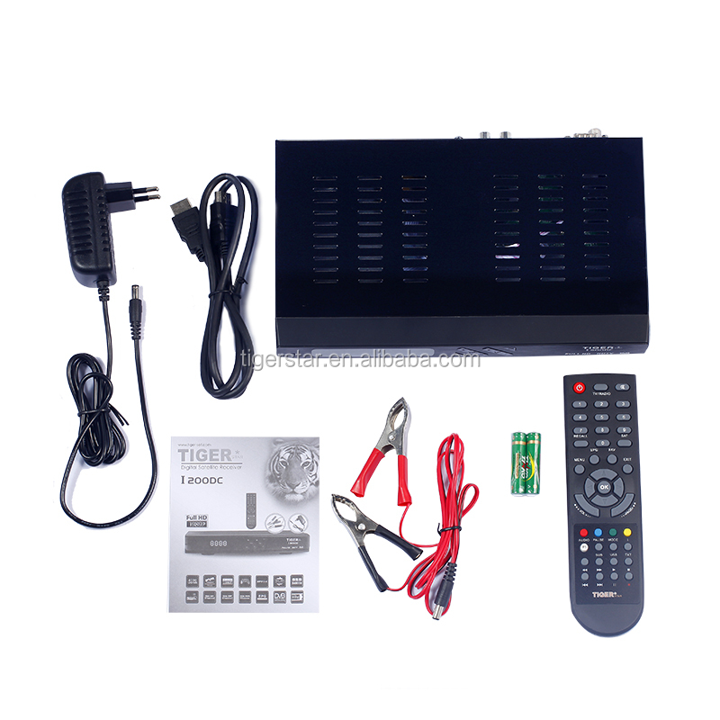Tiger star I200DC Digital satellite receiver best Full HD 1080P satellite receiver