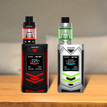 Best Vapor E cig 2ml/ 5ml TFV8 Big Baby Light Edition Atomizer 225W SMOK Veneno Kit Vapour Cigarettes