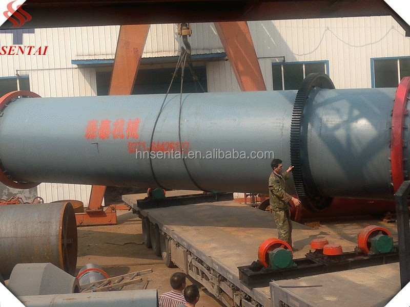 1800X20000mm Fertilizer Rotary Dryer Sold to Egypt