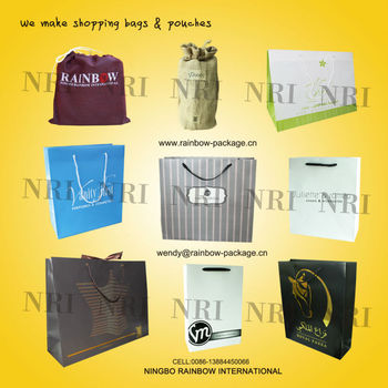 Wholesale Reusable Shopping Bag, paper shopping bag, PP bag, non woven bag