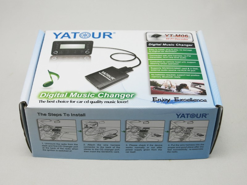 Yatour Car radio USB/SD/AUX IN/Bluetooth digital MP3 kit for Toyota/Lexus