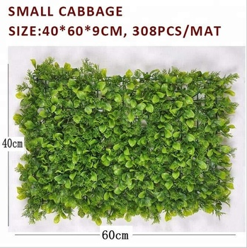 Wholesale decorative boxwood hedge chinese small cabbage for green wall