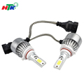 high power automotive c6 9006 30W 12v 24v projector bulb led headlight
