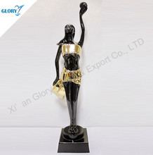Quality Pledge Cheapest Crystal Metal Oscar Movie Trophy in Golden Color