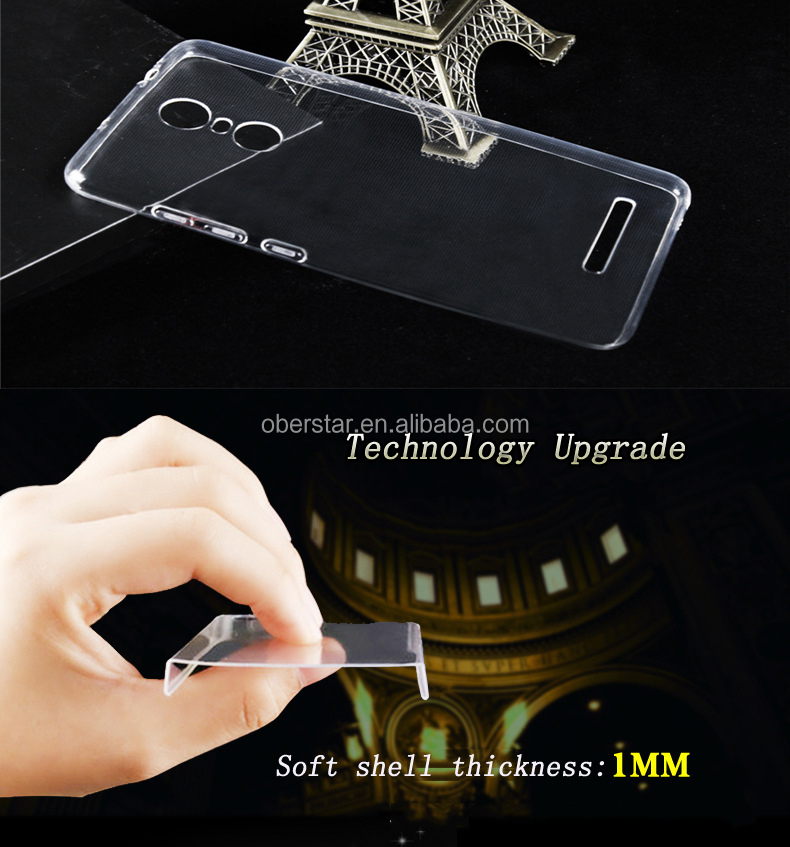 Soft TPU Crystal ShockProof thin Silicone custom made Case Cover For cell phone