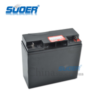 Suoer factory supply 12V 17AH solar energy storage battery