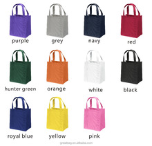 Free Sample personalised eco-friendly grocery nonwoven fabric tote bag