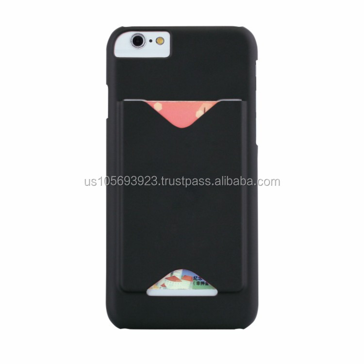 IMPRUE Phone Case Credit Holder Hard Back Cover Case for iPhone6 With 5 Colors