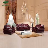 Latest Design Living Room Leather Sofa
