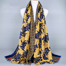 Factory Supplier Women Hijab Scarf Scarf Cotton Viscose Hijab Printed Hijab Wholesale