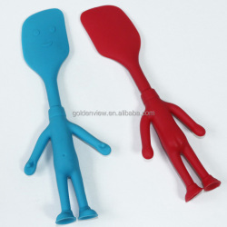 cartoon silicone children kitchen collection set cake & cream spatula scraper kitchenware tool utensil
