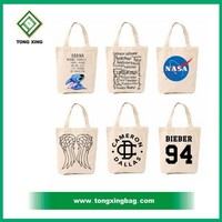 Blank canvas wholesale tote shopping bags,Free sample cotton/canvas bag