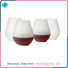 Portable Unbreakable Stemless Reusable Silicone Wine Glasses/Cups