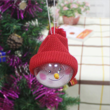 Wholesale New Creative Christmas Tree Decoration Suppliers Snowflake Gift Christmas Ball