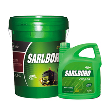 energy saving SARLBORO LNG/CNG L-800 15W40 lubricants oil
