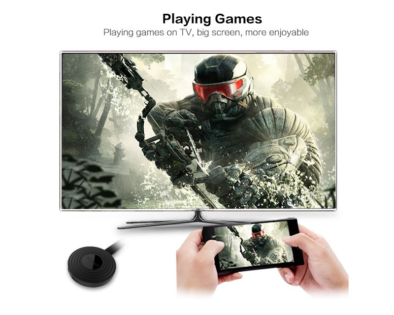 Wecast E9 Rockchip 3036 Dual Core Wireless Display HDMI TV Dongle TV Stick