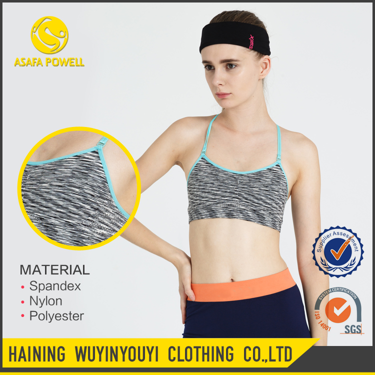 Super Lightweight Breathable Cheap Wholesale Custome Ladies Sexy Sports Bra