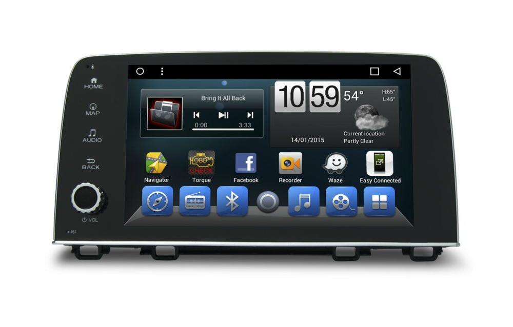 Quad core! Android car dvd for honda crv Capacitive Screen/ GPS/Mirror Link/DVR/TPMS/OBD2/WIFI/4G/3G/IPOD