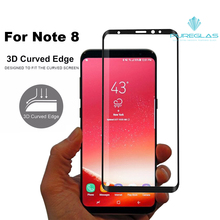Case Friendly for SamsungNote 8 tempered glass screen protector, Nano oleophbic coating screen protector for Note 8
