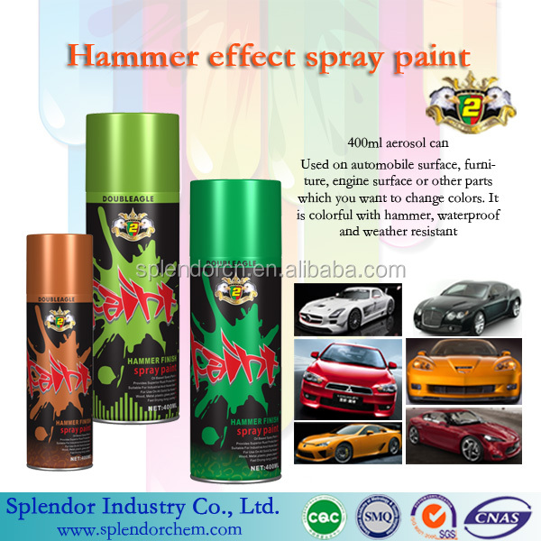 hammer spray paint/ aerosol/granite spray paint for exterior/handy small can spray paint