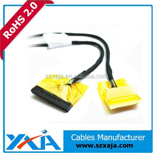 lvds pin connector wire harness lcd screen led converter cable
