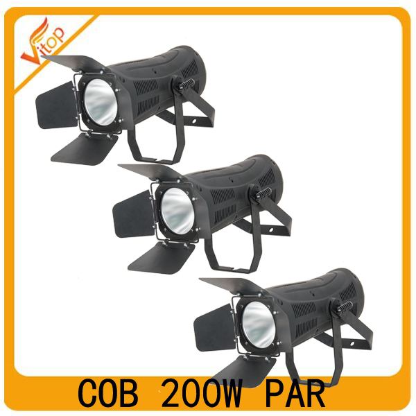 200w cob led par fresnel stage lights; studio par light