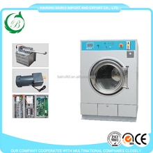 Electric/Steam/LPG gas Heating coin operated double stack washer and dryer