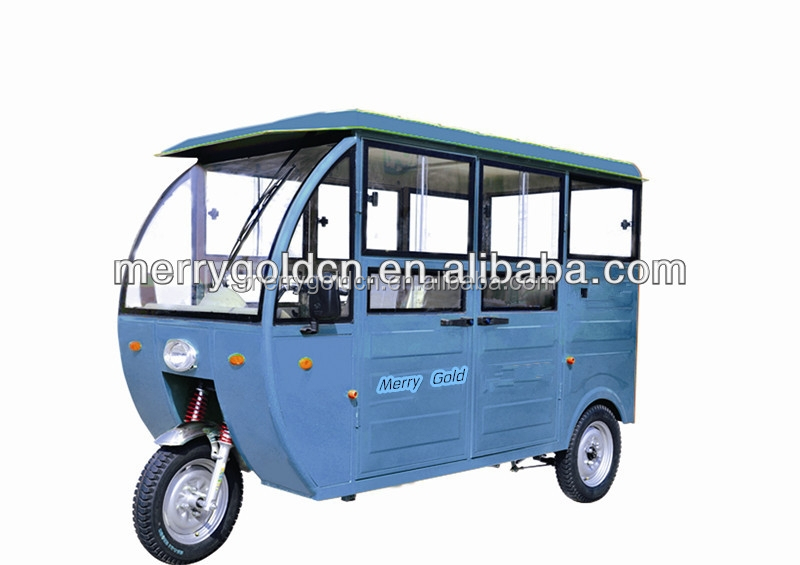 cheap passenger enclosed cabin 3 wheel electric trike motorcycle for sale