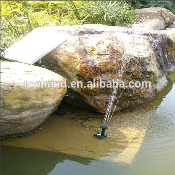 Al aire libre solar bomba de fuente de cascada para piscina estanque de jard n ba o de p jaro - Bomba piscina solar ...