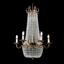 hote sale modern Mosque large brass based cystal beads hotel candle chandelier light fixture